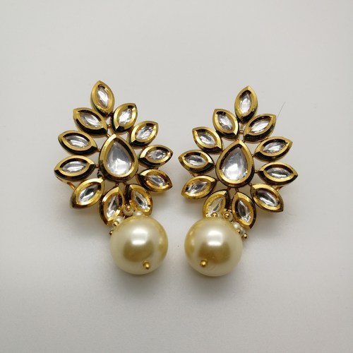 Classic Kundan Grapevine Earrings
