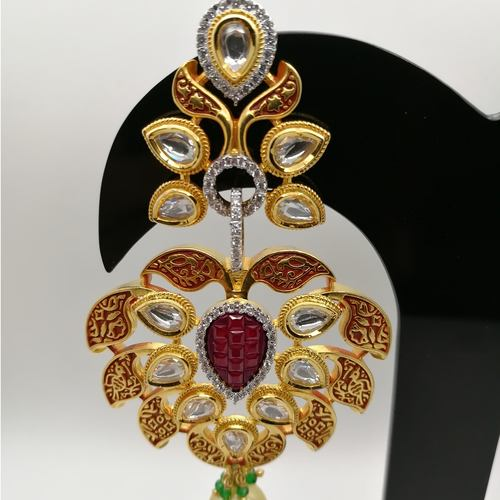 Dressy Kundan Sparkle Glimpse Earrings