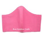 Exclusive Handmade 3D Original Masks Candy Pink XL - MenAdults