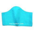 Exclusive Handmade 3D Original Masks Sea Blue XL - MenAdults