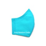 Exclusive Handmade 3D Original Masks Sea Blue S - ToddlersKids 3-6 years old
