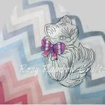 Handmade Embroidered Baby Blanket