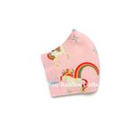 Exclusive Handmade Kids Masks Pink Unicorns 1 3 - 6 years old