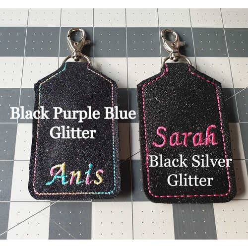 Exclusive Handmade Custom Embroidery SG Trace Together Token Case Slim Version