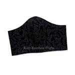 Exclusive Handmade Masks Black Beauty A Men