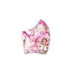 Exclusive Handmade Masks Fairies Garden Pink 7-12 years old