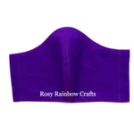 Exclusive Handmade 3D Original Masks Purple Brinjal XL - MenAdults