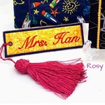 Exclusive Handmade Customs Embroidery Bookmarks