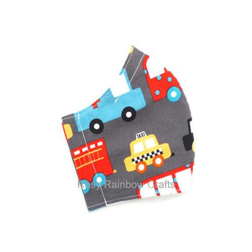 Exclusive Handmade Kids Masks Emergency Vehicle 7-12 years old