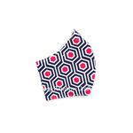Exclusive Handmade Masks Pink Dots Hex WomenTeenagers