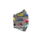 Exclusive Handmade 3D Seamless Masks On The Road Grey S 4-7 years old