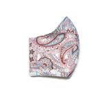 Exclusive Handmade Masks Pastel Paisley Soft Blue WomenTeenagers