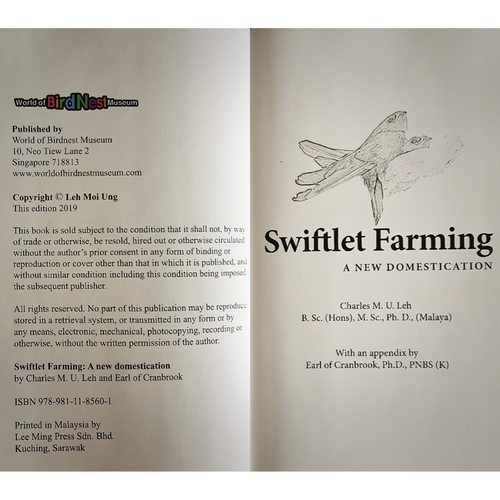 (Soft Cover) Swiftlet Farming: A New Domestication
