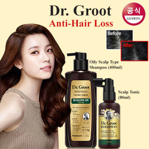 Dr Groot Anti-Hair Loss Shampoo for Oily Scalp 400ml