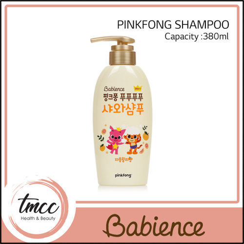 Babience PinkFong Shampoo 380ml