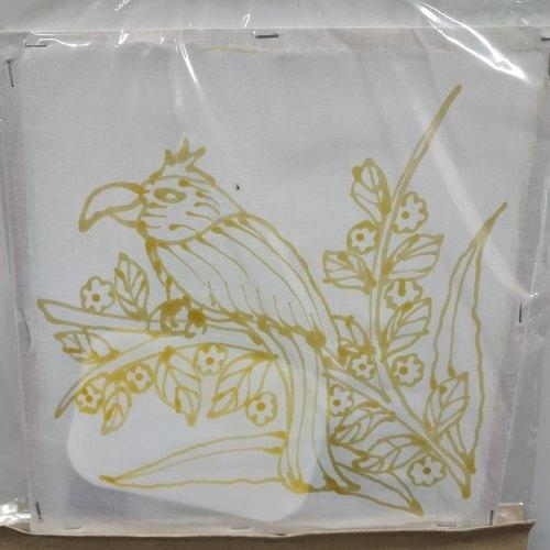 Prewaxed Batik Frame - Orchid