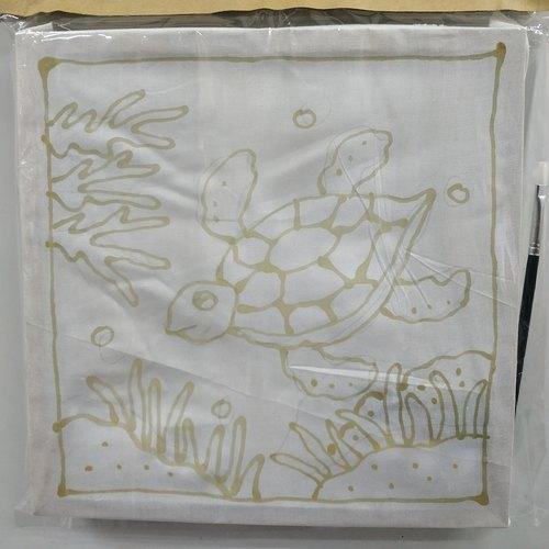 Prewaxed Batik Frame - Turtle