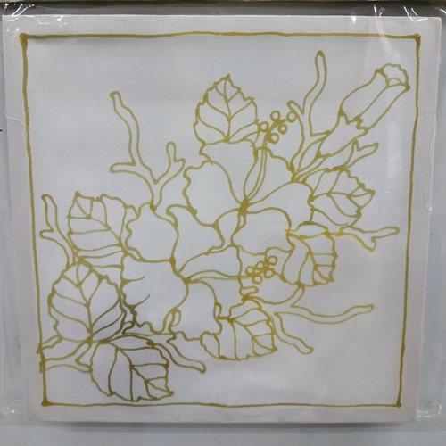 Prewaxed Batik Frame - Leaves