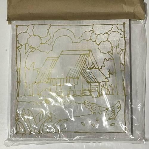 Prewaxed Batik Frame 1