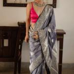 Handmade silver Kudan set with earning