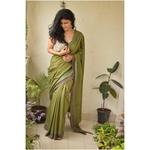 Handwoven cotton saree