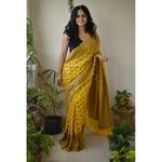 Banarasi kadhwa Khaddi Georgette jari banarasi sari