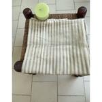 Handloom Chanderi silk cotton with woven motifs