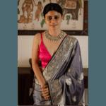 Handloom Katan silk banarasi saree