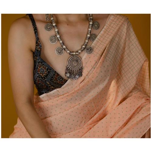 Handmade Silver Chandrahaar piece