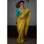 Handwoven kadhwa katan silk banarasi saree