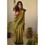 Handwoven tussar silk Sarees