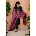 Handloom Tussar Silk Dupatta.