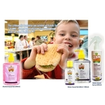 Twin Pack GK Hand Sanitiser Gel Water-Based Gel Baby Powder Frag 500ml.x 2. Twin Pack Contains moisturiser to prevent dryness