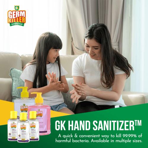 Twin Pack: GK Hand Sanitiser™ (Water-Based) 250ml x 2