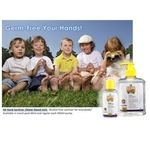 GK Hand Sanitiser Gel Water-Based Gel Baby Powder Frag. 450ml
