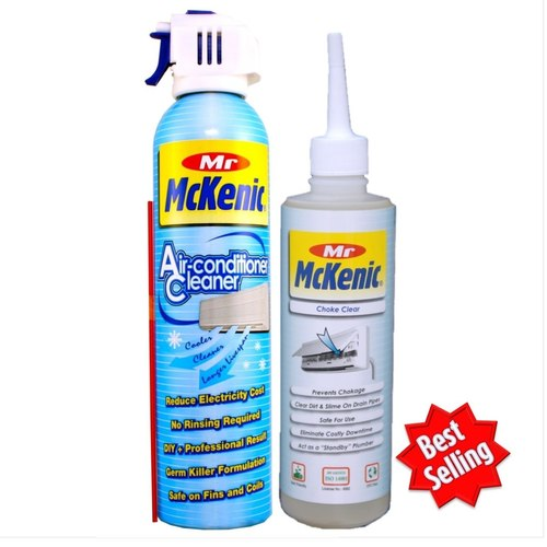 Twin Pack Air-Con Cleaner + Choke Clear