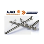 Ajax Bi-Metal Self-Drilling Screw Austenitic Stainless Steel 316 / 304 Series with a unique comformal coating technology