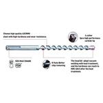 Brullen Concrete Hammer SDS Max Drill Bit - GERMAN CARBITE TIP