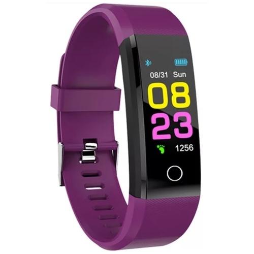 ZAPET New Smart Sport Watch Fitness Tracker  (Purple Strap, Size : Free Size)