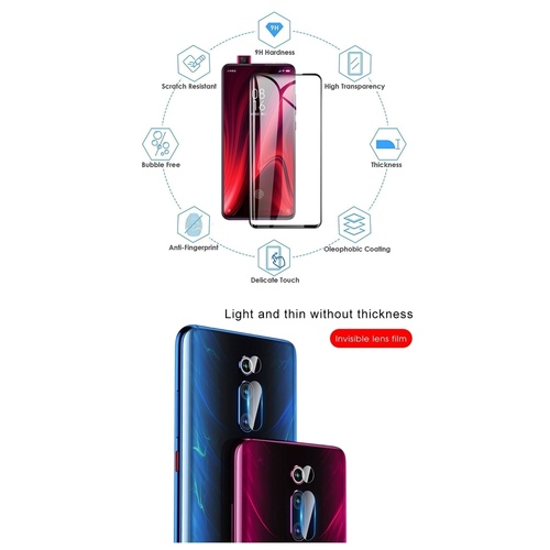 RGMS Tempered Glass Guard for Redmi MI K20 Pro  (Pack of 1)