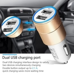 RGMS 2.1 Amp Turbo Car Charger  (Multicolor)