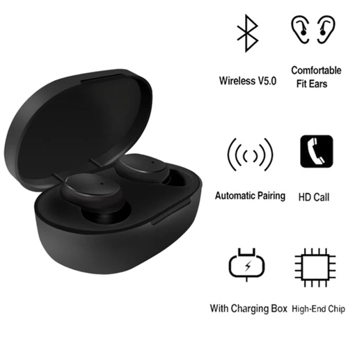 RGMS True Xiaomi Wireless Earbuds Bluetooth 5.0 Headphones, Sports in-Ear Bluetooth Headset with Mic