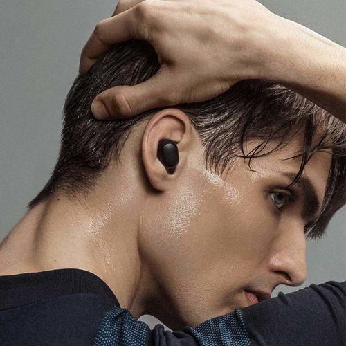 RGMS True Wireless Earbuds Bluetooth 5.0 Headphones, Sports in-Ear Bluetooth Headset with Mic  (Black, In the Ear)