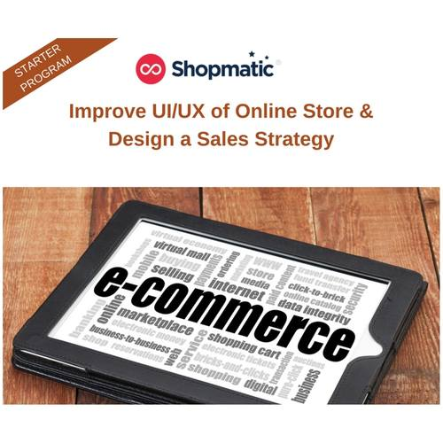Improve UI/UX of Online Store & Design a Sales Strategy