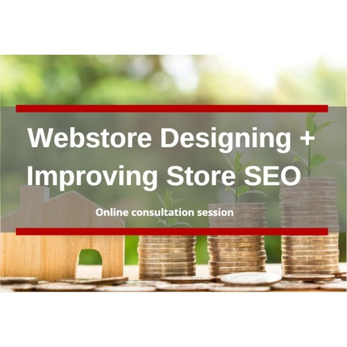 Bundle Package 1 - Webstore designing + Improving Store SEO