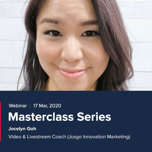 Masterclass Series Webinar 17th Mar
