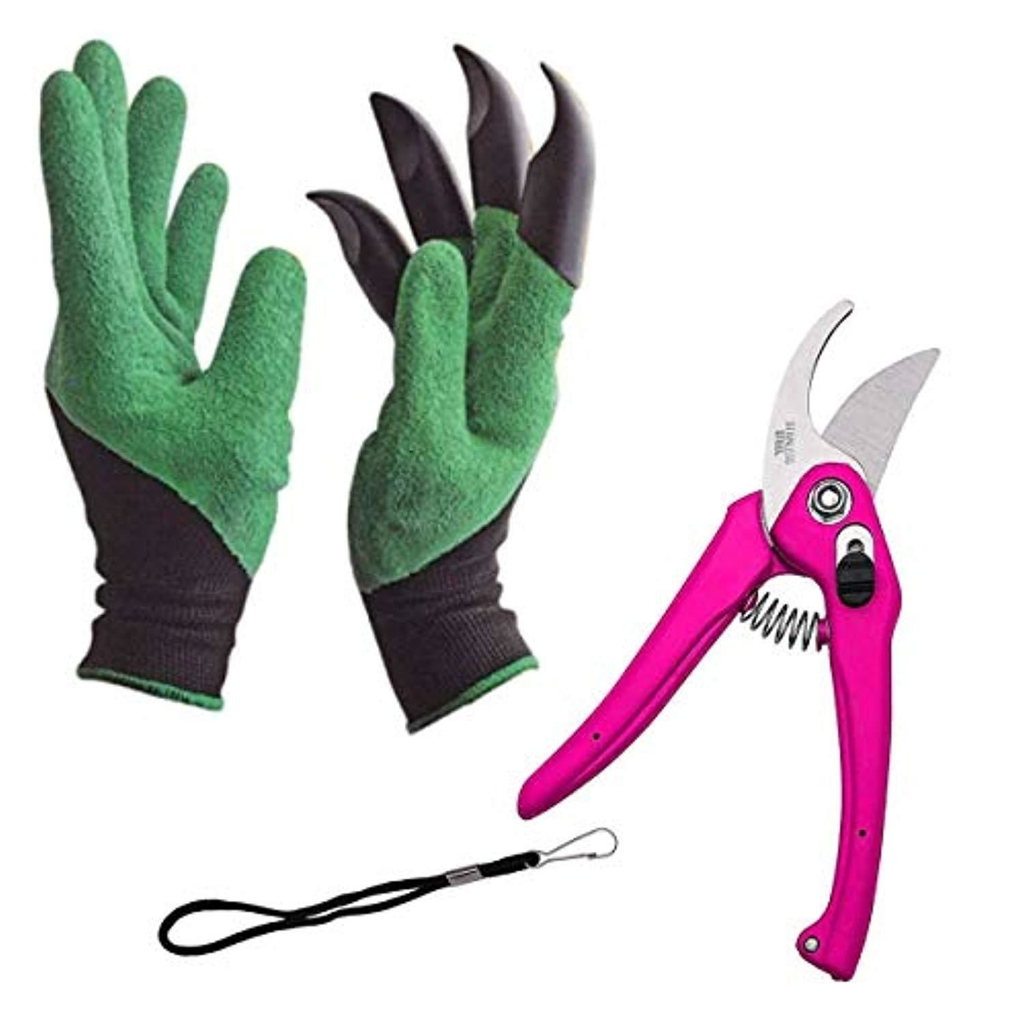 Gardening Tools - Garden Gloves with Claws for Digging and Planting, 1 Pair Ergonomic Grip, Incredibly Sharp Secateurs