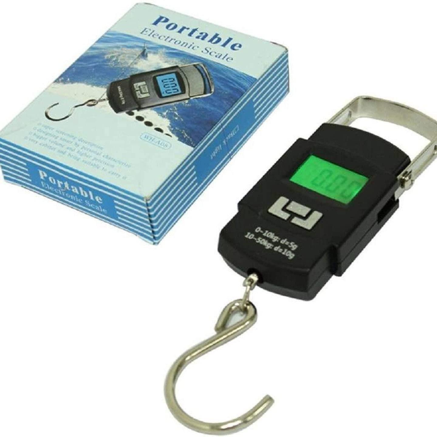 Digital Portable Hook Type Weighing Scale 50 kg, Multicolor