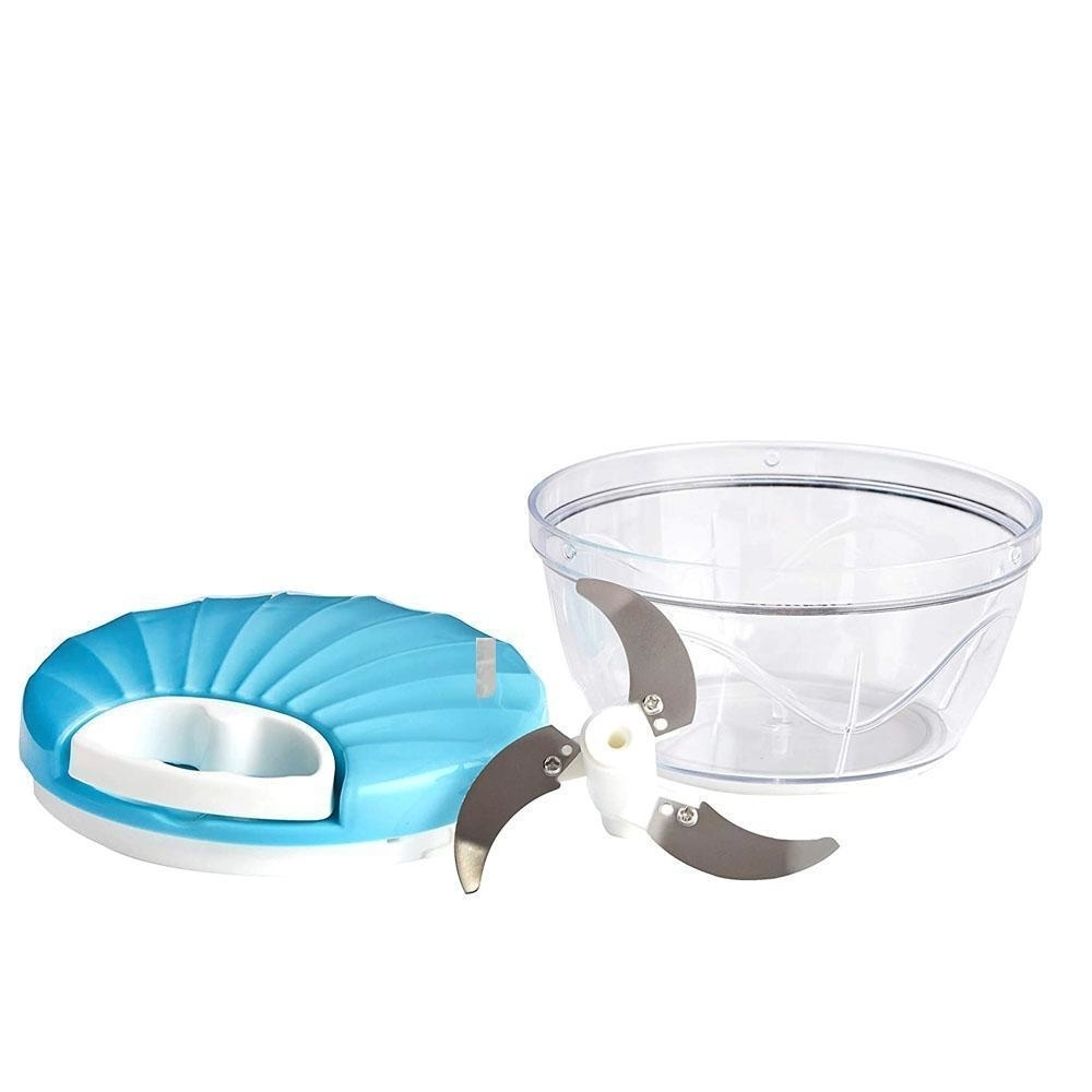 Vegetable Handy Chopper with 3 Blades, 500 ml Multicolor