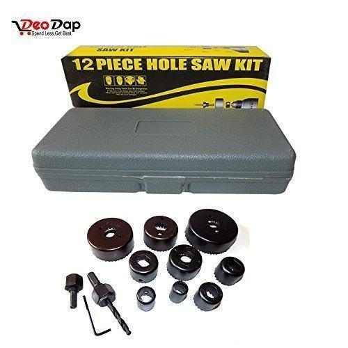 12 pcs 19-64mm Hole Saw Kit